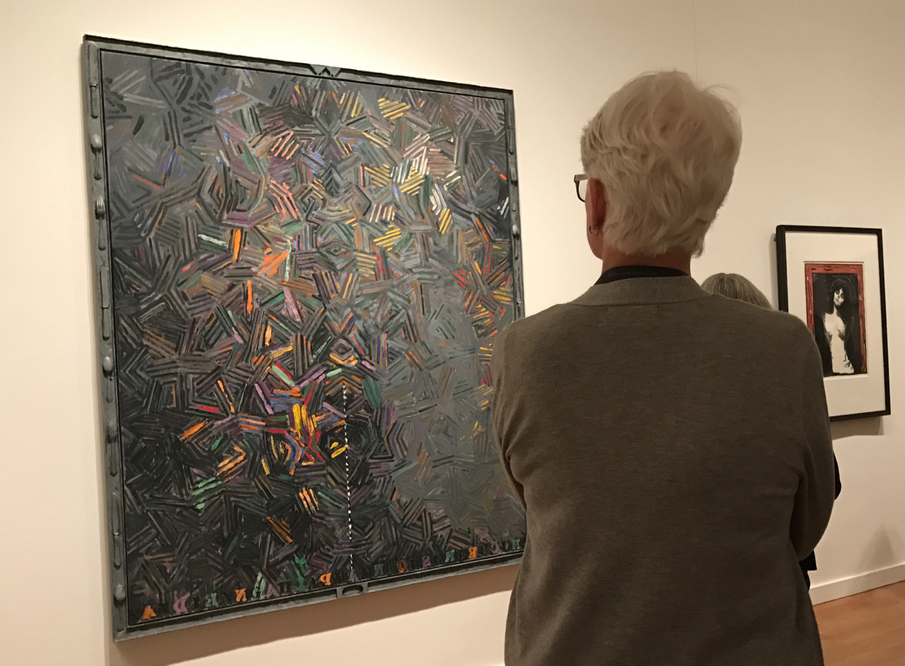 Case-study In Creativity With VMFA's Jasper Johns And Edvard Munch Exhibition