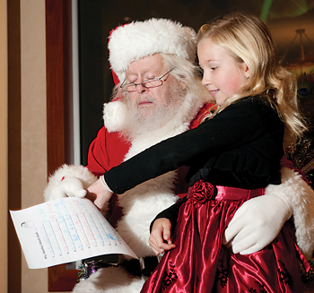 Brunch with Santa at Lewis Ginter