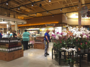 Finishing touches and tweaks were applied as we toured the newest Wegmans.