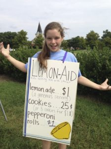 LemonAid provides all the supplies you need, but it's also fun to make your own signs and add a creative touch to marketing.