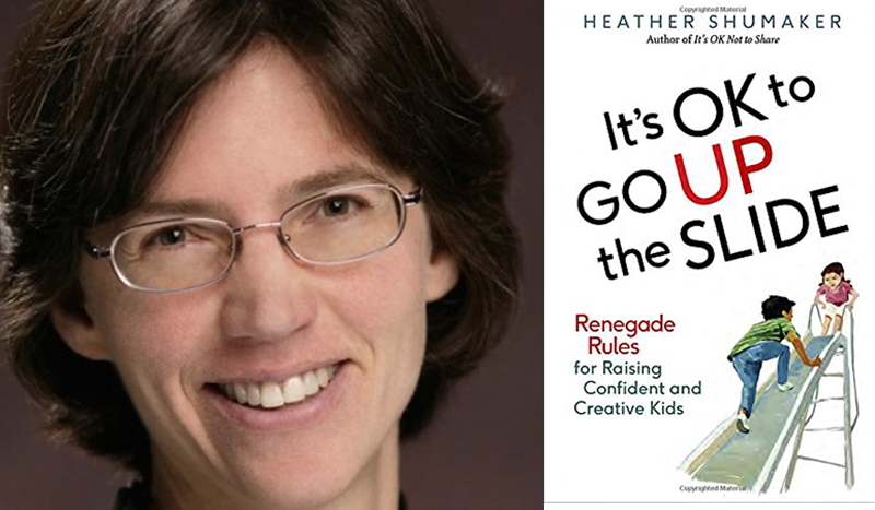 """Renegade Parenting Rules: A Review Of """"It's OK To Go Up The Slide"""""""