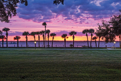 This breathtaking vista reveals one of the reasons why America's wealthiest families may have reserved Jekyll Island for the Hunt Club in the late 1800s.