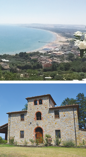 The Adriatic city of Vasto is where it all began, when a woman made a choice a century ago to leave her hometown and begin anew in the United States. Base camp for the family reunion is a centuries-old Tuscan villa.