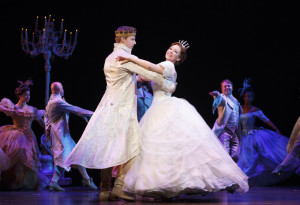 Rodgers + Hammerstein's CINDERELLA tour company. Photo by Carol Rosegg