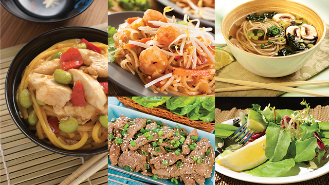 Asian-Inspired Family Dishes