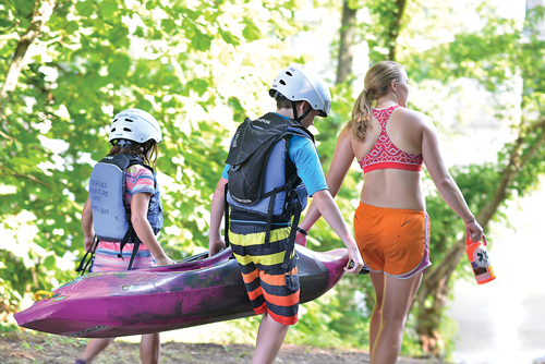 """""""It is an honor and a privilege to lead these kids to new adventures and we take it very seriously,"""" says Kevin Tobin, co-owner of Passages Adventure Camp. """"We are all about getting the kids outside and having fun."""""""
