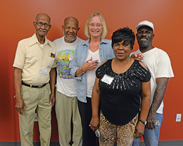 Members of the READ Center team.