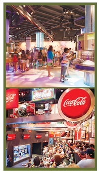 The World of Coke is the beverage giant's Atlanta HQ and one of three kid-approved bore-proof tours.