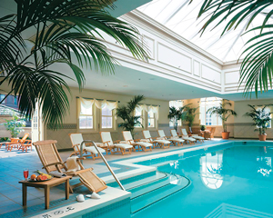 Enjoy a watery weekend in the five-star finery of The Jefferson! It's the closest you'll come to the tropics in Richmond.
