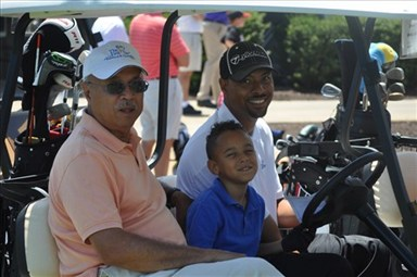First Tee Holds Father-Child Golf Tournament