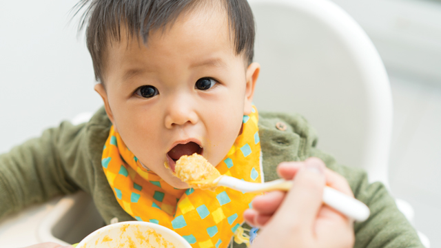 Stages And Ages Of Feeding Baby