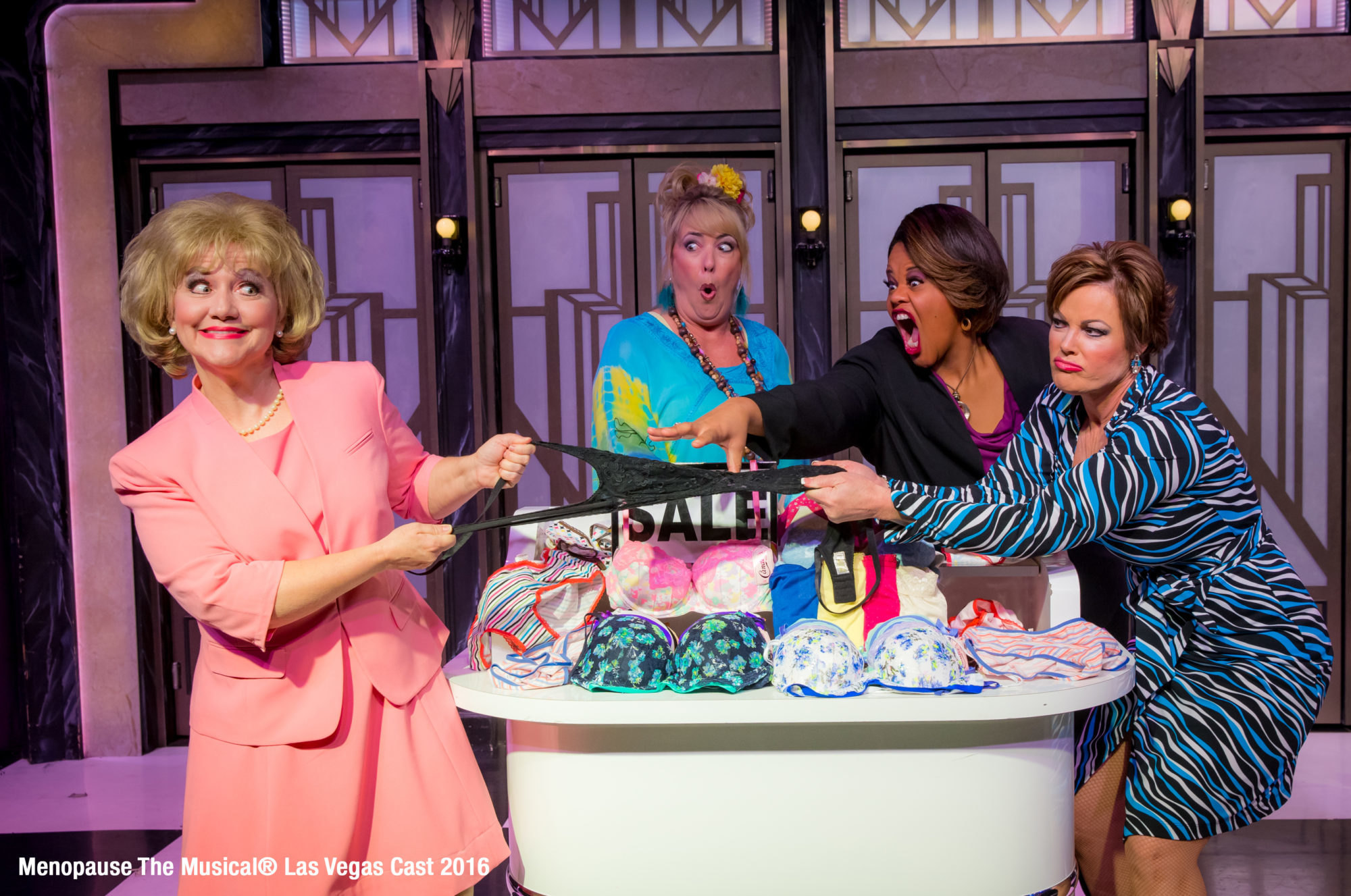 """""""Menopause The Musical"""" Actress Was Nowhere Near Menopause When Show Began"""
